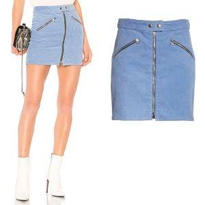 Rag & Bone Riviera Racer Corduroy Mini ALine Skirt